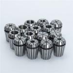 HR0617 15pcs ER25 2mm to 16mm Chuck Collet Spring Collet Set For CNC Milling Lathe Tool