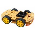 HR16 4WD Smart Robot Car Chassis Kits with Speed Encoder
